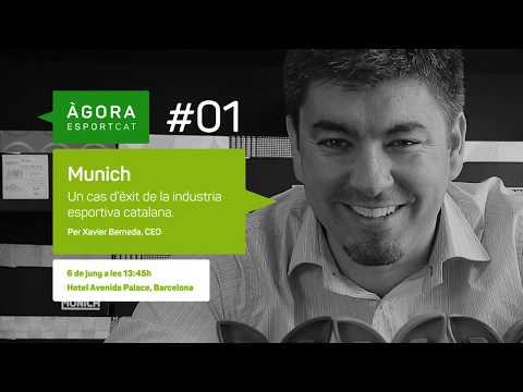 Àgora EsportCat #1 Xavier Berneda CEO Munich Sports