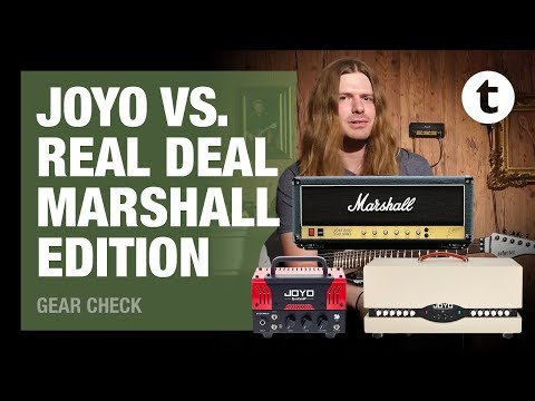 How good are Joyo amps? | Part 1 | Marshall | Comparison