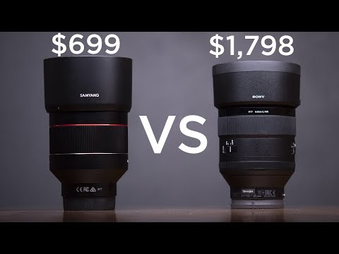 Is the Samyang 85mm f/1.4 Lens Better than the Sony?