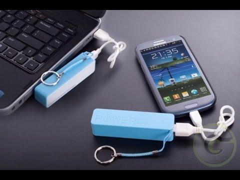 Las baterías externas: la mejor solución cuando no estás en casa