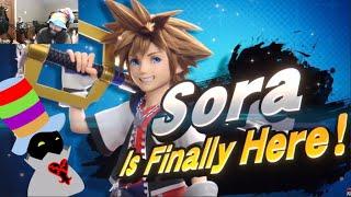 Reacting to SORA in SMASH, the BEST CASE SCENARIO