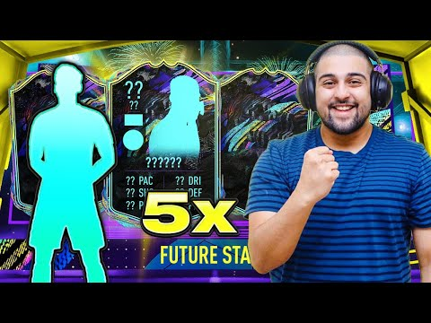 I PACKED 5 FUTURE STARS TEAM 2 PLAYERS!!! #FIFA21