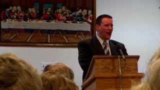 Elder Tony Clay - Echo United Baptist New Year's Eve - 2013