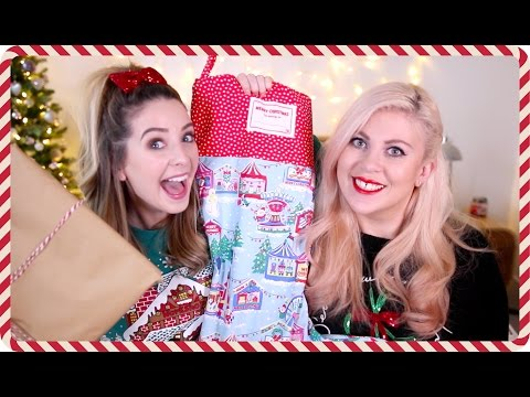 Christmas Gift Giving With Louise | Zoella