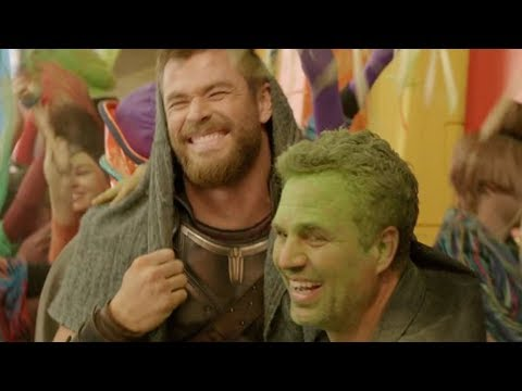 Download Youtube: Bloopers That Make Us Love Thor: Ragnarok Even More