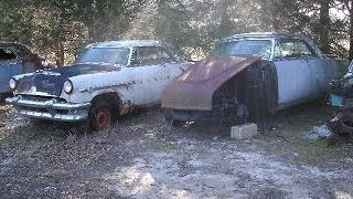 1954 Mercury Sun valley Glass Top w/ Monterey parts car For Sale, Call 1-864-348-6079