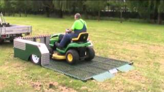 Lay Flat Trailer - Shire Council Trailer demonstration