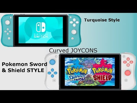 Nintendo Switch Lite Styled Curved Joy Cons !!!!