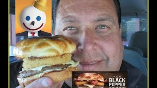 Jack In The Box® Black Pepper Cheeseburger Review!