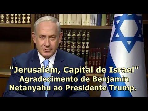 Benjamin Netanyahu agradece aos EUA (Donald Trump)