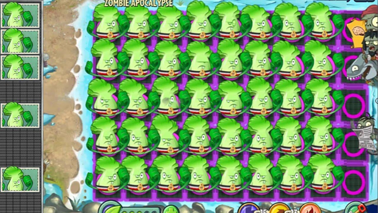 Endless Plants Vs Zombies Hacked | ArcadePreHacks.com