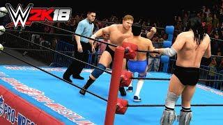 WWE 2K18  小橋・秋山 vs ハンセン・ブロディ - Kenta Kobashi & Jun Akiyama vs Stan Hansen & Bruiser Brody