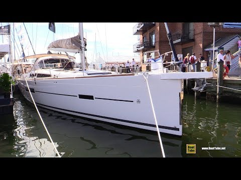 2018 Dufour 520 Grand Large - Deck and Interior Walkaround - 2017 Annapolis Sail Boat Show