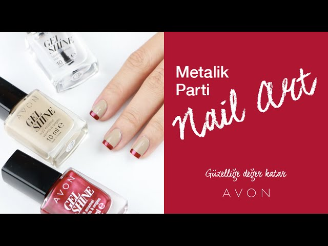 Metalik Parti Nail Art | Ojemrujumrimelim
