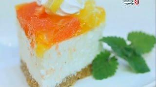 Творожно-цитрусовый торт. Цитрусовый чизкейк