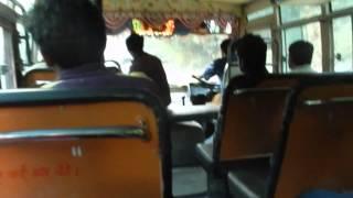 Bumpy Bus ride in Himachal Pradesh