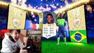 FIFA 18 - 1ST PRIME ICON PELE IN A PACK!!