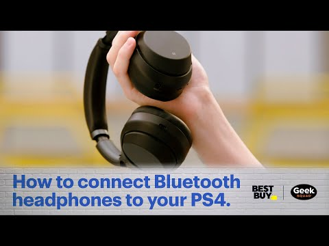 Tech Tips: How To Connect Bluetooth Headphones To A PS4.