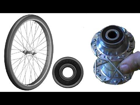 Задняя втулка колеса на промышленных промподшипниках для велосипеда, дешевая.