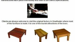 Oregon Pine Furniture Manufacturer - Ou Hout Meubels