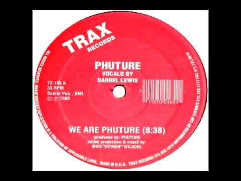 Phuture - We are Phuture (high quality)