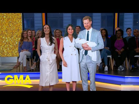 Duchess Meghan&39;s showstopping year in fashion  GMA