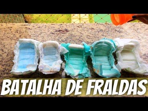 FRALDAS: Personal, Pampers, Cremer, Parents Choice E Turma Da Mônica