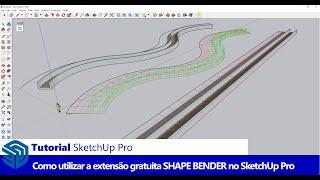 Video Como utilizar a extensão SHAPE BENDER no SketchUp download MP3, 3GP, MP4, WEBM, AVI, FLV Desember 2017