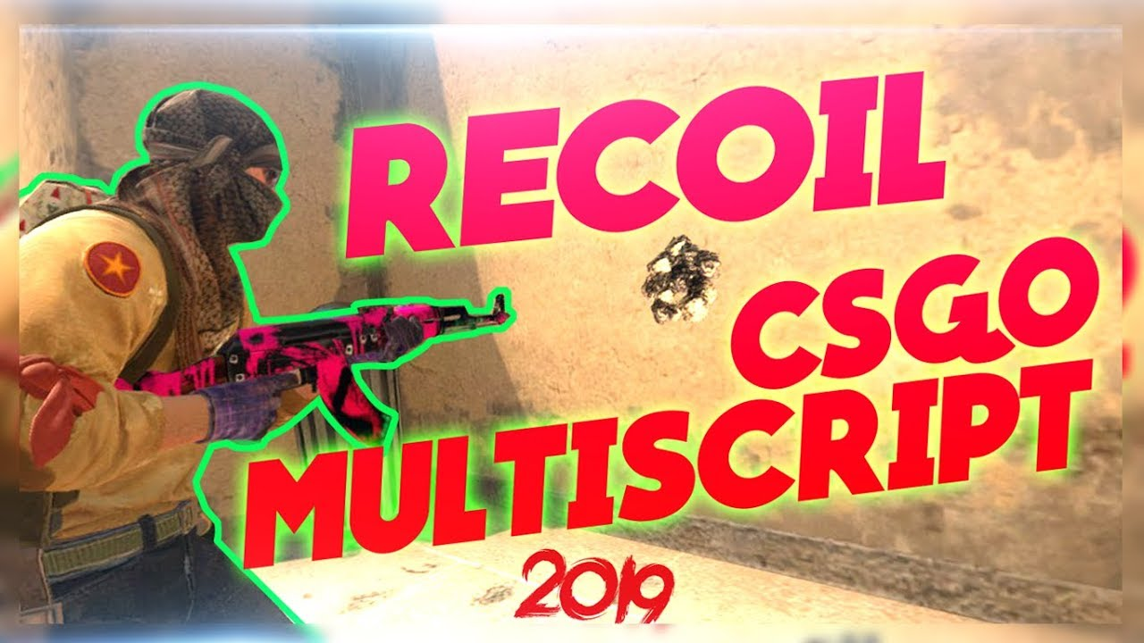 CSGO Recoil Multi Script AHK 2019 | Undetected | Best Norecoil Script | No  recoil V2
