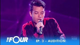 Christian Gonzalez: 16-Year-Old Singer Brings SEXY Latin Swag! | S2E3 | The Four