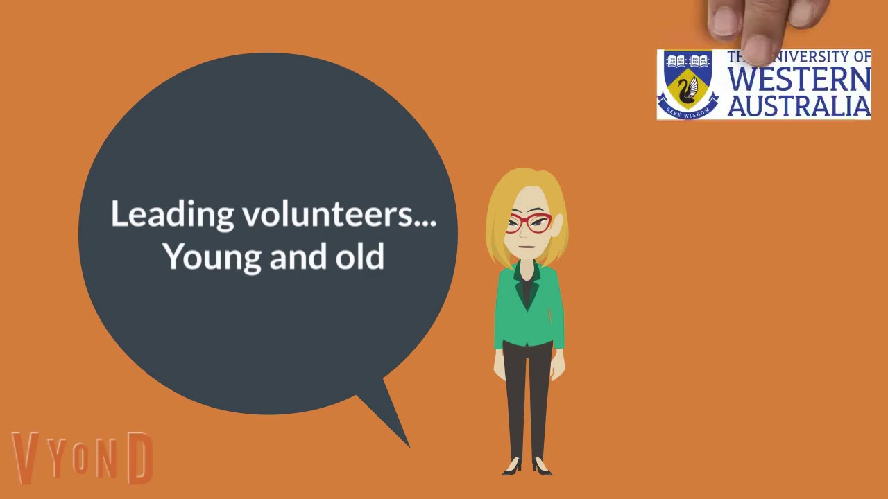 Leading volunteers young and old: Research study