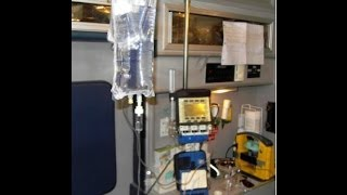 part 1 basic set up of alaris medsystem iii iv pump for cct