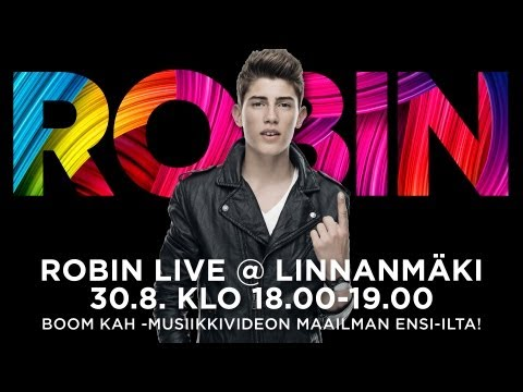 Robin live @ Linnanmäki 30.8.