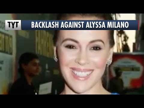 Alyssa Milano Faces Backlash For Staying Quiet About Biden Allegations