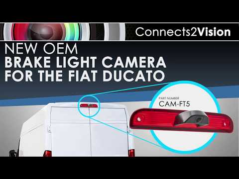 Fiat Ducato Reverse Camera Solution Cam Ft5 Youtube