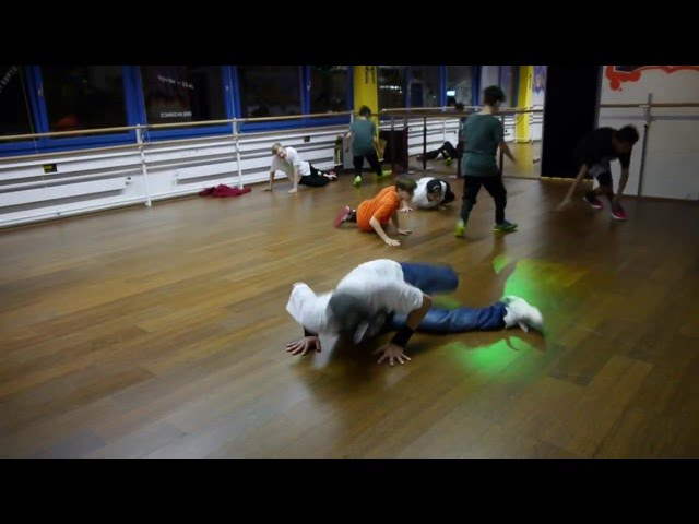 Breakdance routine for beginners 2