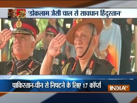 Bipin Rawat: Army has to remain prepared to counter Doklam-like situation
