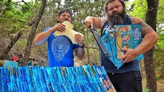 World's Largest Man vs World's Largest Rice Krispy!!!