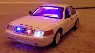 1:18 d crown victoria unmarked police car with leds lights life like ...