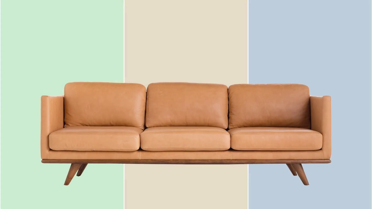 Brooklyn Sofa | Mid Century Modern Furniture By Jovili