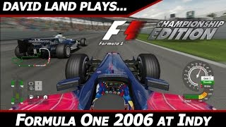 David Land Plays: F1 Championship Edition [2006 HD 60FPS PS3 Gamplay]