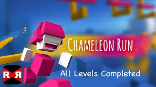 Chameleon Run - All Levels Completed - iOS / Android - 60fps Gameplay Video
