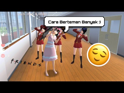 Cara Mendapat Teman :) (Req. By andika risqila) - SAKURA School Simulator