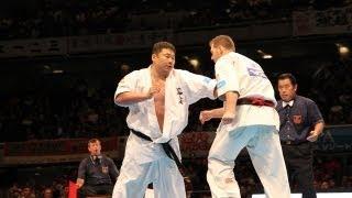 THE 10th WORLD KARATE CHAMPIONSHIP Men 4th round Brian Jakobsen vs ...