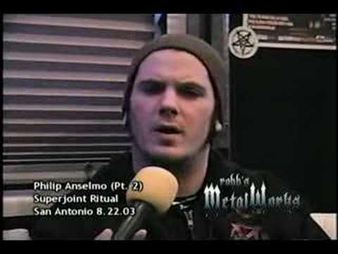 Philip Anselmo Part 2 On Robbs Metalworks 2003 Youtube