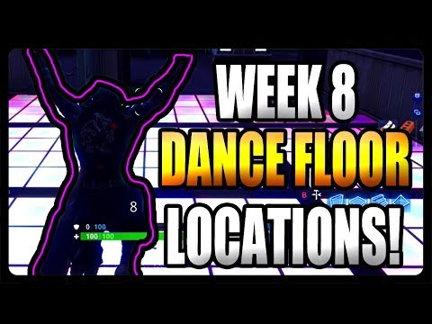 Fortnite: Dance On Different Dance Floors (ALL Locations)