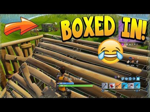 BOXED IN! FTW! (Fortnite Battle Royale)