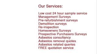PAC Asbestos Surveys  http://www.pac-asbestos-surveys.co.uk/