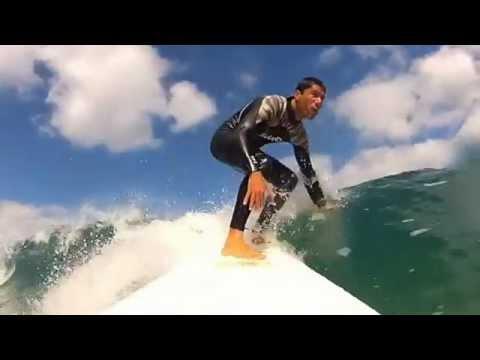laga surf camp - campamentos y cursos de surf - youtube