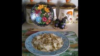Hungarian  Cabbage Pasta  /  KÁpostÁs TÉszta
